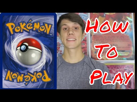 Pokemon card battle how to play - easy to learn tutorial