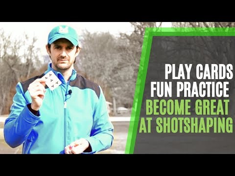 Golf: practice that's fun? play your cards right