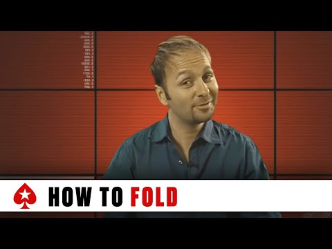 How to fold a good poker hand - part 1 ♠️ how to play like a natural born poker player ♠️ pokerstars