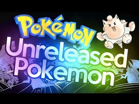 Pokemon facts | unreleased pokemon never used in game!