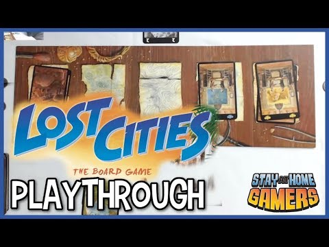 Lost cities how to & playthrough [2 player card game]