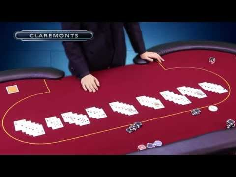 The poker hand hierarchy: three of a kind - flush