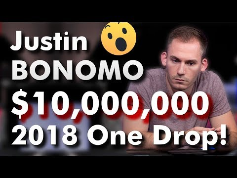 How justin bonomo won $10,000,000 in the 2018 one drop!