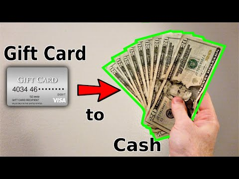 How to turn visa gift card into cash using paypal or venmo | transfer giftcard money to bank account