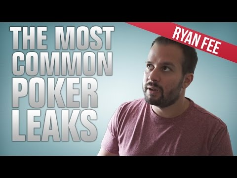 Common poker leaks that hurt your hourly
