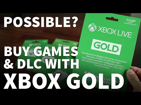 Can i buy games with xbox live gold - xbox live gold vs xbox gift card to buy games and dlcs