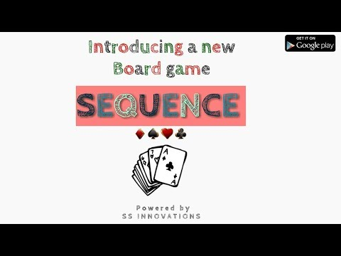 Sequence android classic board game   online multiplayer game   ss innovations