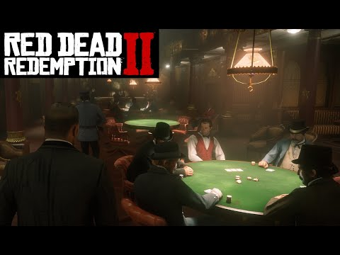 How to place a good bet on a poker game! | red dead redemption 2 #29 rtx 2080 #rdrii