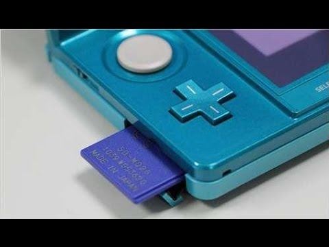 How to transfer sd card data to a new sd card on 3ds