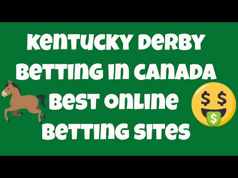 Kentucky derby betting online in canada - where to bet