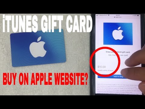 ✅ how to buy itunes gift card on apple website 🔴