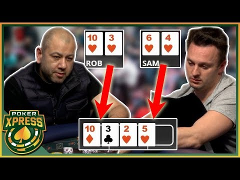 The perfect time to hit a gutshot straight! | a poker video