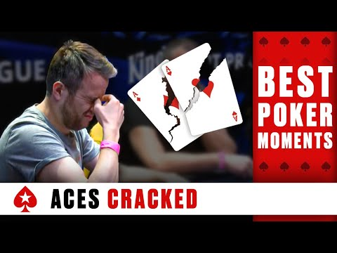Aces getting cracked ♠️ best poker moments ♠️ pokerstars