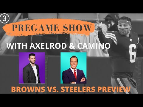 Watch   3news' ben axelrod and nick camino preview browns-steelers wild card game