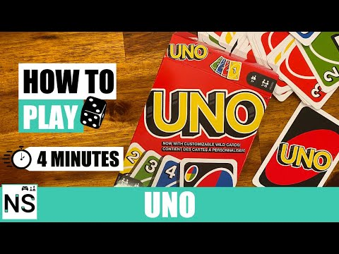 How to play uno in 4 minutes (uno card game rules)