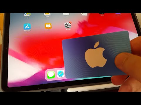 How to add funds to your apple id using itunes card