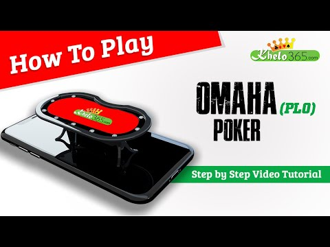 How to play pot limit omaha poker(beginners) | easy ways to earn money 100% in india #khelo365