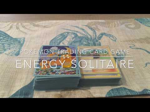 How to play pokemon cards alone: energy solitaire