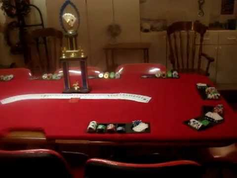 How to build a custom 10 player & dealer poker table cheap