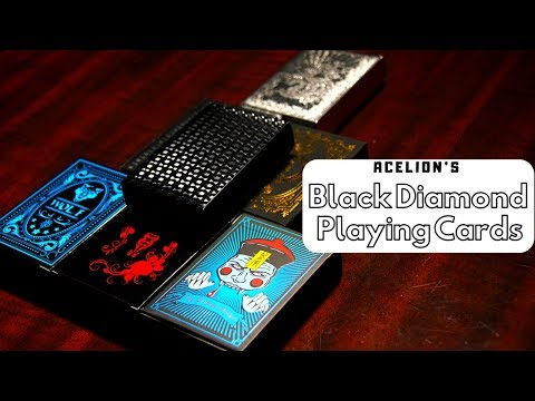 Best deck of cards? (acelion's black diamond playing cards)