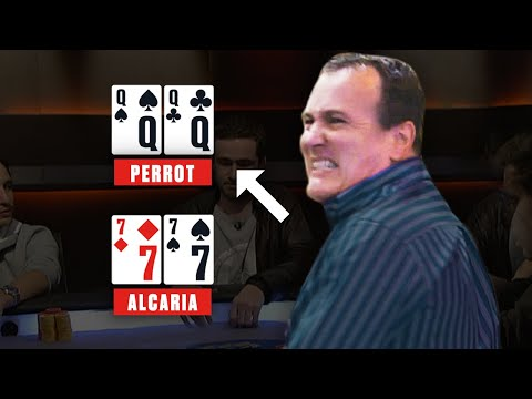Poker player gets hilariously angry at the table ♠️ best poker clips ♠️ pokerstars