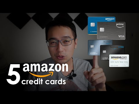 The 5 amazon credit cards (what amazon doesn't want you to know)