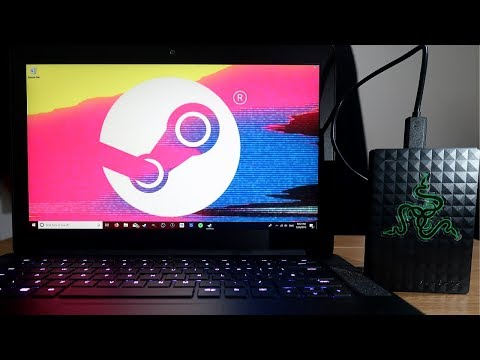 How to install steam games to external hard drive