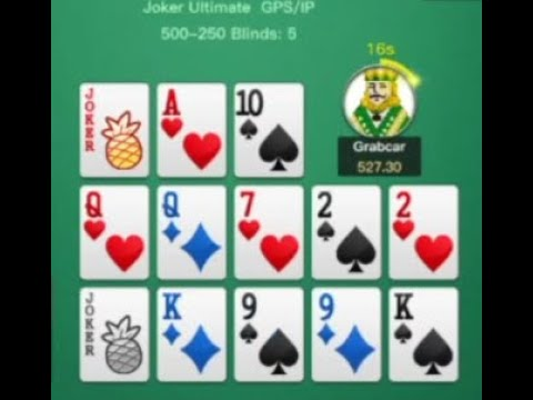 Pineapple ofc play-by-play 2020 ep22 [jokers]: survived 17-card fl unscathed