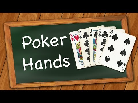 What are the poker hand ranks