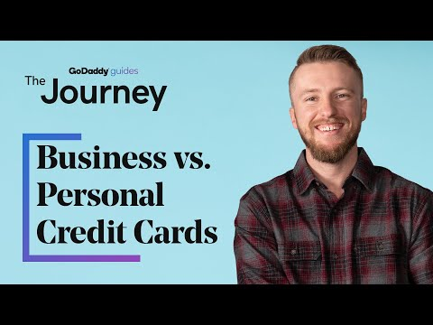 What is the difference between business vs personal credit cards