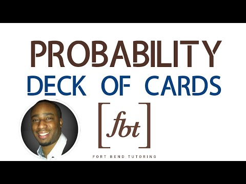 Finding probability: deck of cards [fbt]