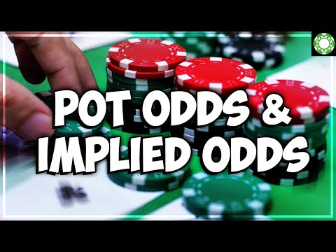 Pot odds implied odds - a little coffee with jonathan little