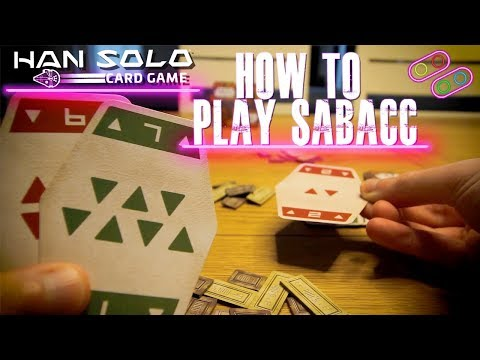How to play corellian spike sabacc han solo card game and make your own deck
