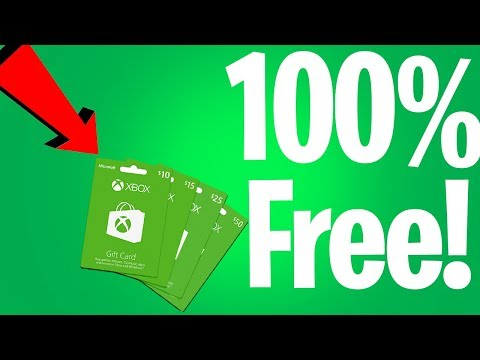 How to get free xbox one gift cards (100% working)