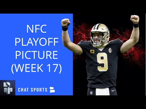 Nfl playoff picture: nfc clinching scenarios, wild card race, seeding, standings for week 17 of 2020