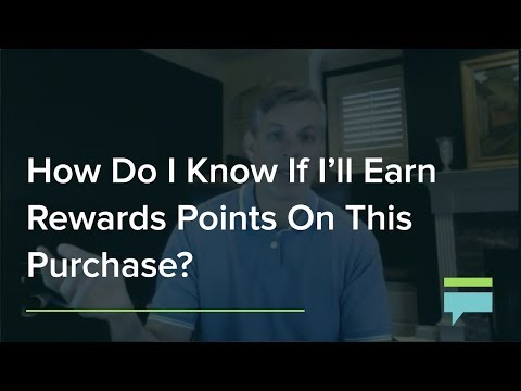 How do i know if i'll earn rewards points on this purchase? – credit card insider