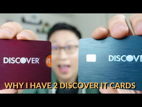 Why i have 2 discover it cards