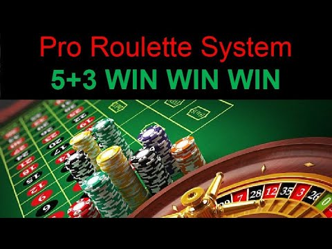 Win at pro roulette 5 + 3 strategy