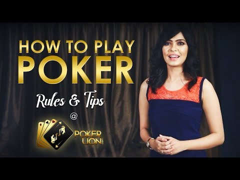 How to play poker | play poker online | best online real money poker game ~ pokerlion.com