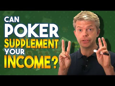 Can poker supplement your income?