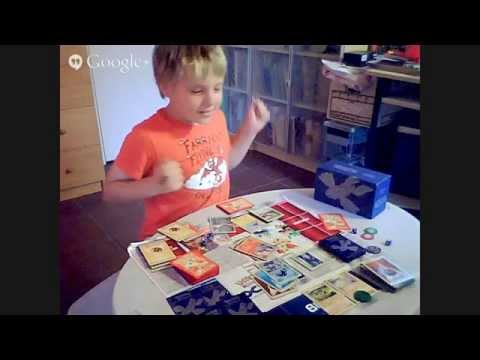 Elijah show : beginners guide on how to play the pokemon trading card game tutorial by a 7 year old