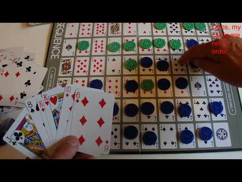 How to win at sequence - tips, tricks & strategies - step by step tutorial