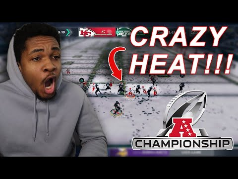 Afc championship game!!! this is the gltichiest defense in madden 21! absolute clamps! (fantasy cfm)