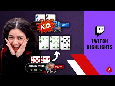 The most painful bad beats of the month ♠️ twitch highlights ♠️ pokerstars